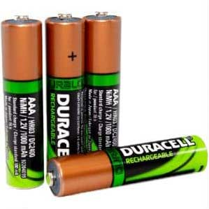 Rechargeables NiMH AAA Batteries - Pack of 4's Thumbnail